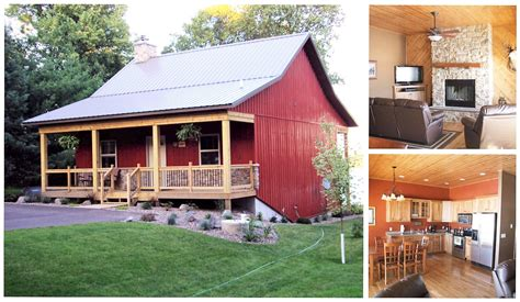 Barn With Porch by Metal Barn With Porch And Fireplace For 12 20 000