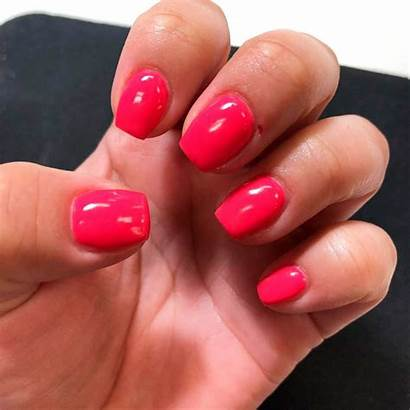 Nails Coffin Acrylic Short Them Shaped Lovely