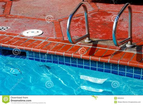 brick swimming pool edge and tile stock photo image 6062504