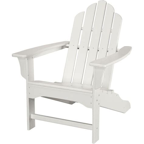 White Adirondack Chair Home Depot by Rocking Chairs Patio Chairs Patio Furniture The Home