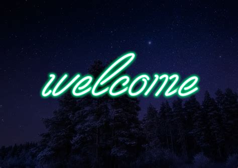 Neon Font ~ Illustrations ~ Creative Market