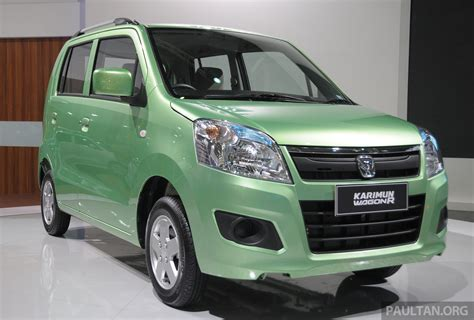 Suzuki Karimun Wagon R by New Suzuki Karimun Wagon R And Stingray At Iims