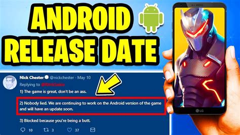 fortnite mobile android beta release date info