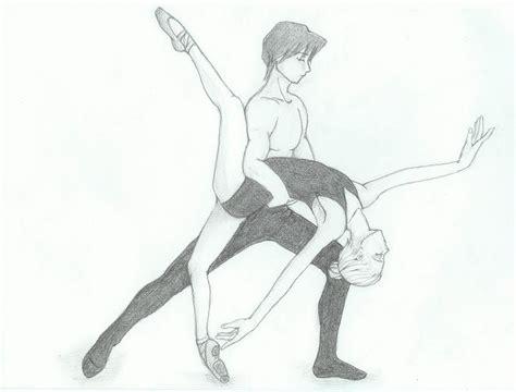 drawn ballet dance pencil   color drawn ballet dance