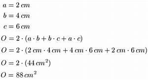 Quader Oberfläche Berechnen : geometrie volumen und oberfl che von quader zylinder und kugel ~ Themetempest.com Abrechnung