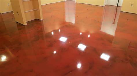 Rustoleum Garage Floor Coating Kit Colors by Metallic Epoxy Floor Sarasota Metallic Epoxy Flooring Top