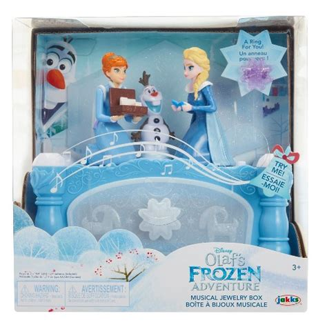 Disney Olaf's Frozen Adventure Musical Jewelry Box : Target