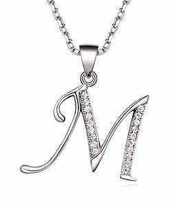 everything imported sterling silver letter m pendant buy With sterling silver letter m pendant