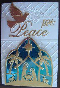 154 best Cards Christmas Nativity cutting s images on