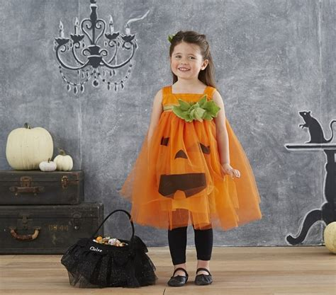 pottery barn costumes pumpkin tutu costume pottery barn