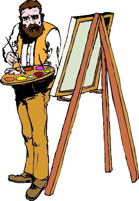 artists clipart artist painting clipart clipart panda free clipart images