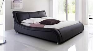 Www Denische Betten De : kunstlederbett aberdeen schwarz breite 160 oder 180 ~ Bigdaddyawards.com Haus und Dekorationen