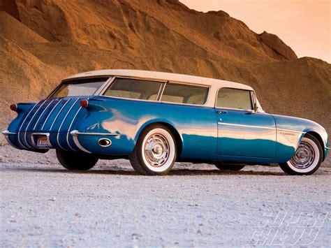 Chevy Concept Car by Chevy Corvette Nomad The 1954 Chevrolet Corvette Nomad