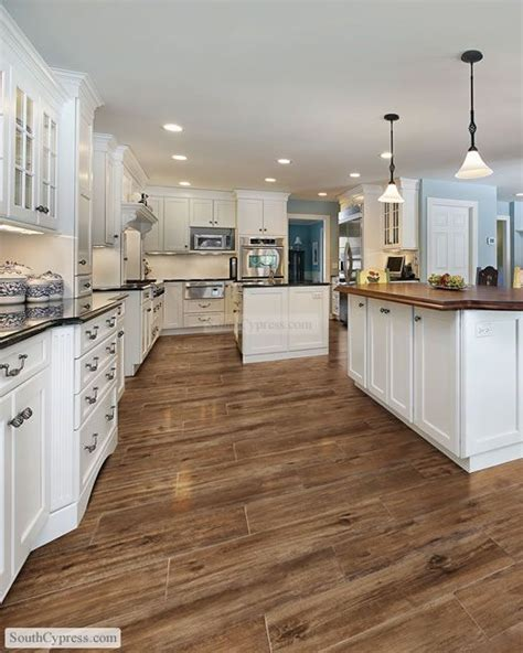 Wood Floor Or Tiles In Kitchen  Morespoons #ce3ed2a18d65