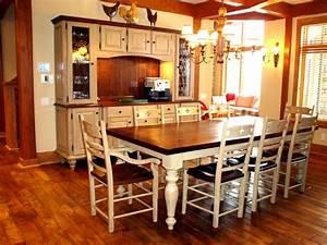 Table De Cuisine En Bois : set de cuisine en bois le bois chez vous ~ Teatrodelosmanantiales.com Idées de Décoration