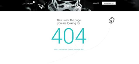 Best 404 Page How To Design 404 Pages With Awesome Ux 6 Tips Justinmind
