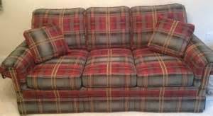 plaid sofa 500 brand new witlock 39 s plaid sofa for sale in spartanburg south carolina classified