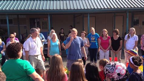 cathcart elementary teachers als ice bucket challenge