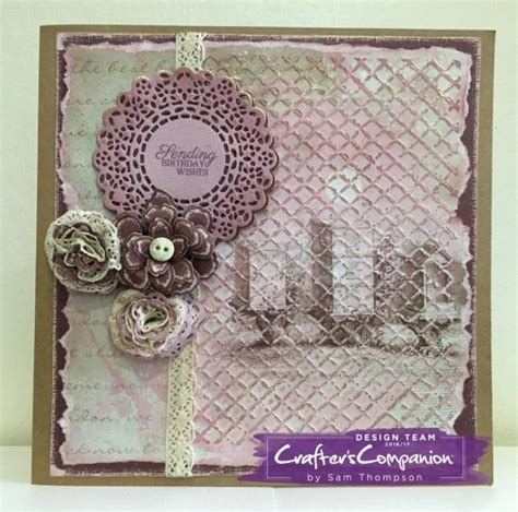 shabby chic craft projects shabby chic signature collection by sara davies gallery craft projects paper projects