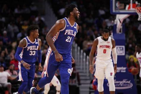 NBA 2020-21: Philadelphia 76ers vs Detroit Pistons LIVE ...