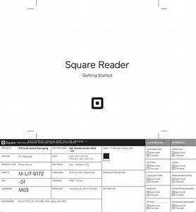 Square Spc1 Wireless Card Reader Accepting Nfc Contactless