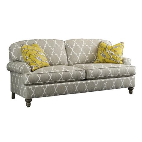 Emily Sofa by Highland House 2568 86 European Excursions Upholstery