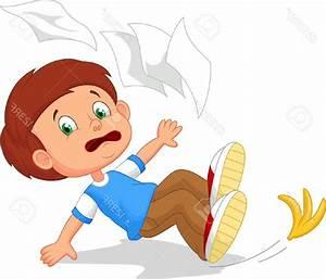 Top Cartoon Boy Fall Down Stock Vector Child Design