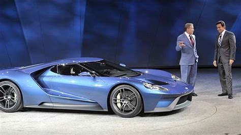 Ford Unleashes Exotic Sports Cars At Detroit Auto Show