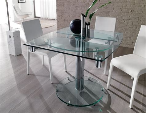 tavoli di vetro tavoli in vetro quando e come sceglierli idee mobili