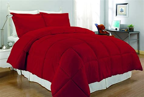 red comforter sets for warm and cozy bedroom decor susan