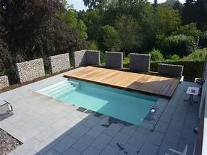 Pool Terrasse Selber Bauen : begehbare terrassen schwimmbadabdeckung architektur pinterest terrasse pool im garten und ~ Orissabook.com Haus und Dekorationen