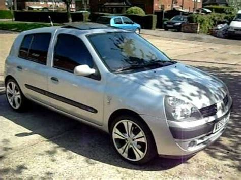 renault clio 2002 modified renault clio 1 2 dynamique modified youtube