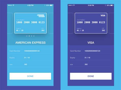 credit card checkout  tgc  dribbble