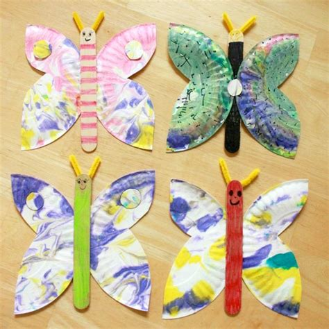 Butterfly Life Cycle Paper Plate Toy Craft Free Fjextange Template by Best 25 Princess Crafts Kids Ideas On Pinterest