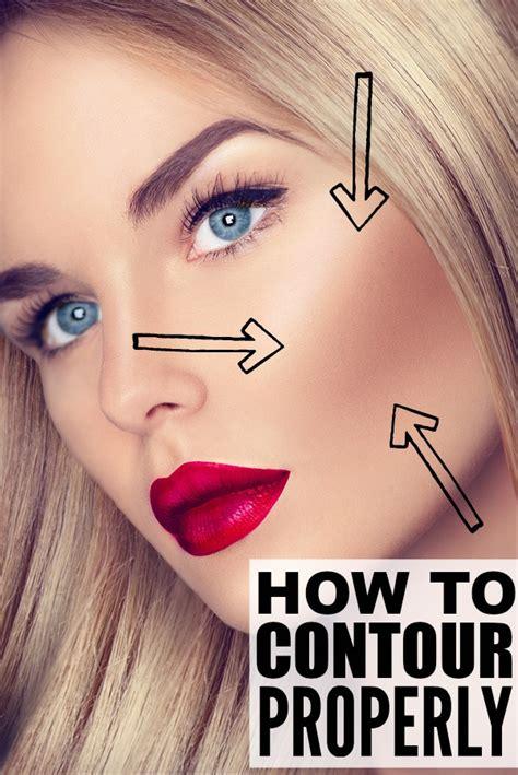 tutorials  teach    contour  face properly