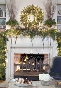 30, Stunning, Christmas, Mantel, Decorating, Ideas