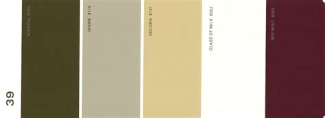 martha stewart paint 5 color palette card 03 thelandofcolor