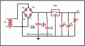 Alternator Voltage Regulator Schematic Diagram