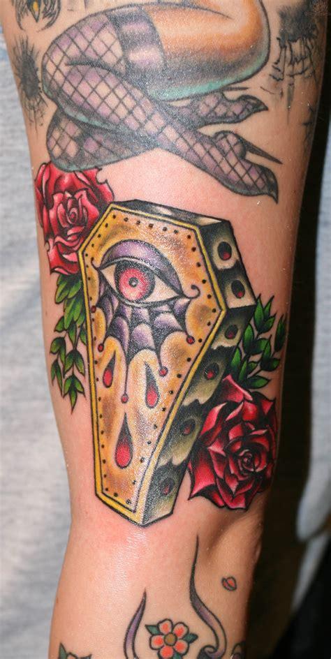 Couple Tattoo Old School