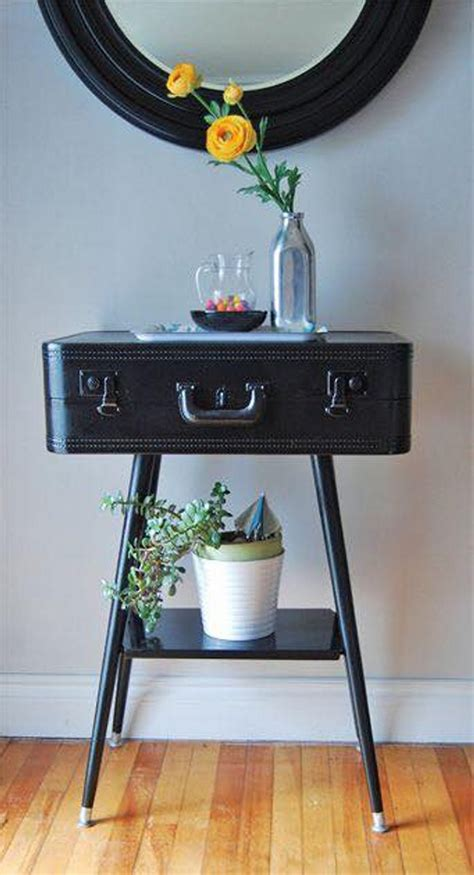 ideas  repurpose  suitcases upcycle art