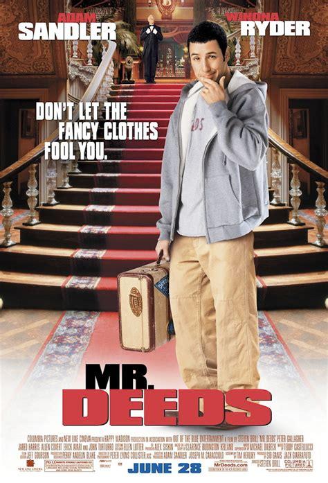 Mr. Deeds DVD Release Date October 22, 2002