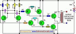 Inverter Circuit For Soldering Iron
