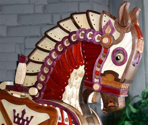 armor horse woodworking plan forest street designs