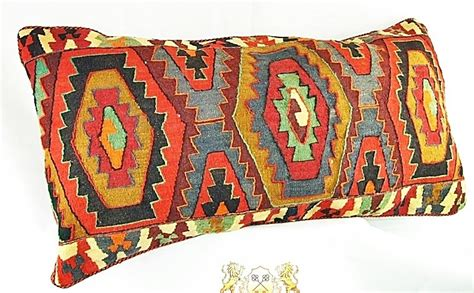 Keshan Rug by Kelim Kissen R 252 Ckenkissen Unikat 100x55 Cm Premium Ware