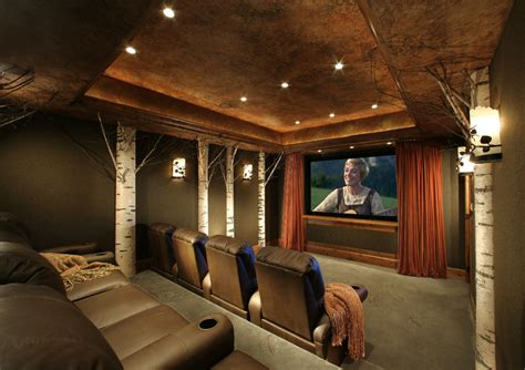 interior design home theater sesshu design associates ltd home theaters cave interior designs inspired by bowl