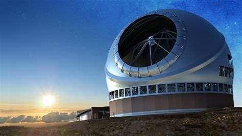 front emerges  battle  build giant telescope
