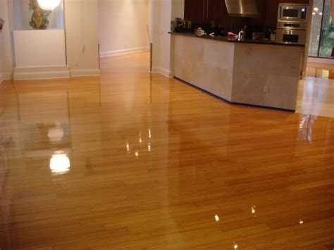 shine laminate floors properly
