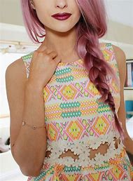 Pink and Purple Hair Braid