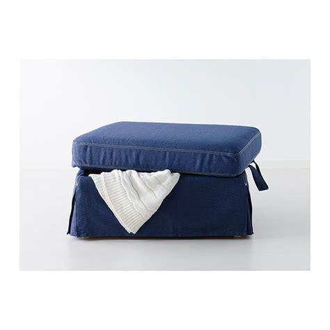 ikea ottoman cover ikea ektorp footstool cover ottoman slipcover jonsboda blue