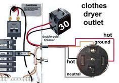 Breaker 3 Wire Dryer Hook Up Diagram by 3 Prong Dryer Outlet Wiring Diagram Electrical Wiring
